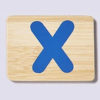 Wooden Letter X