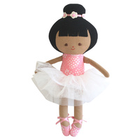 Baby Ballerina Doll - Strawberry Pink