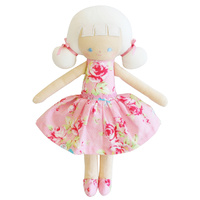Audrey Doll - Pink Floral