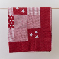 Lachlan Red Throw Rug
