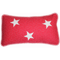 Lachlan Red Decorator Cushion