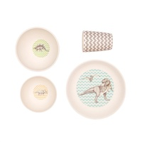 Bamboo 4 pc Set - Trex Supper