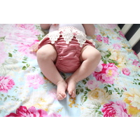 Couture Fitted Cot Sheet - Clementine