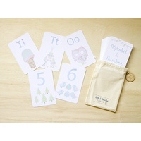 Alphabet and Number Flash Card Set