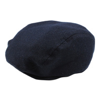 Archie Pageboy Hat - Navy Tweed