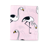 Flamingo Pink Fitted Sheet