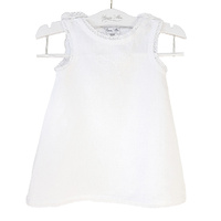 Bow Embroidered Linen Nightie
