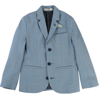 Chambray Suit Jacket