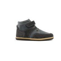 Stomp Boot - Charcoal/Black