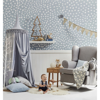 Bed Canopy - Light Grey