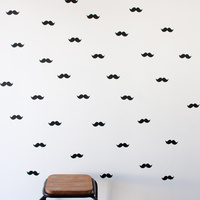 Wall Stickers Moustaches