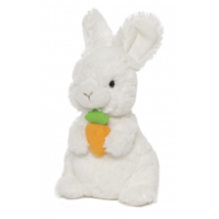 Lil Whispers With Carrots Bunny - White