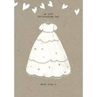 On Your Christening Day Card
