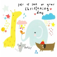 Lots of Love On Your Christening Day
