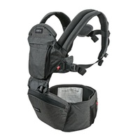 Hipster Plus 3D Baby Carrier - Charcoal Grey