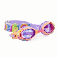 Let's Flamingle Bling2o Swim Goggles - Flock Of Flamingos Creamsicle