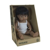 Miniland Doll 38cm - Hispanic Boy