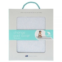 Fitted Change Pad Cover - Blue Marle