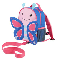 Mini Backpack With Rein - Butterfly