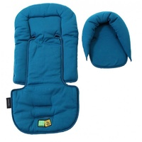 Allsorts Headhugger And Seat Pad - Ocean Blue