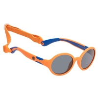 Orange Frame Smoke Lens Sunglasses