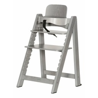 Highchair And Baby Set - Grey Wash