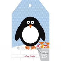 Happy Birthday Penguin Gift Card