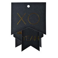 Gold Foil Gift Tags
