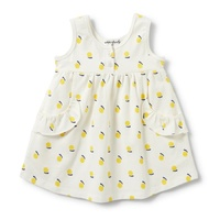 Sunshine Ruffle Pocket Dress
