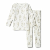 Baby sloth Long Sleeve Pyjamas Set
