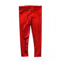 Metallic Legging - Red