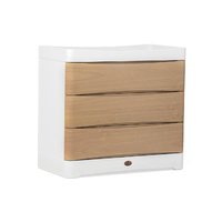 Dawn 3 Drawer Dresser with Integrated Changing Station