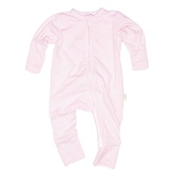 Onesie Sleepy L/S Romper - Blush