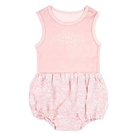 Baby Singlet And Bloomers - Mae Blush