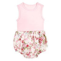 Baby Singlet And Bloomers - Meadow
