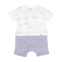 Darcy Outfit Romper - Blue park