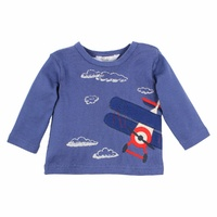 Oliver Flying Aeroplanes L/S Shirt - Navy
