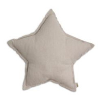 Star Cushion Beige 45cm Medium