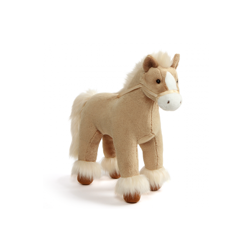 Dakota Clydesdale Pony Plush Toy - Tan