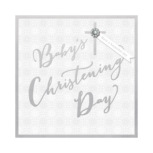 Baby's Christening Day, Gift card