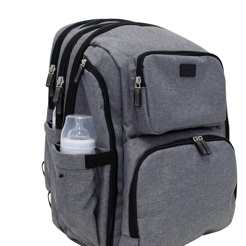 LaTASCHE Iconic Nappy Backpack - Grey