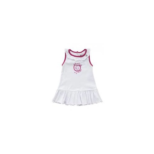 Dress - Enfant - White [Size: 0(6-12m)]