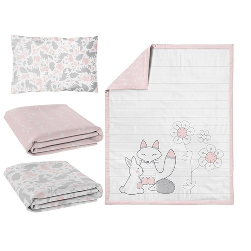 4 Piece Nursery Set - Forest Friends