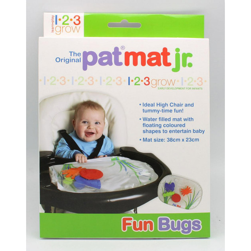 The Original Pat Mat Jr - Fun Bugs