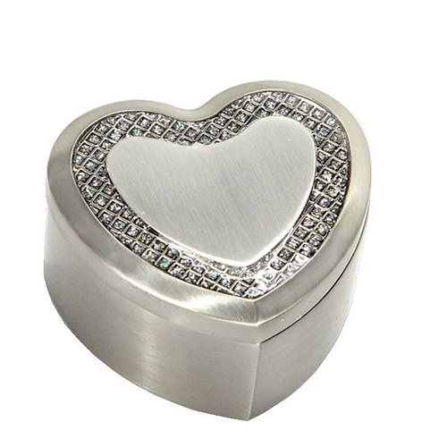 Small Heart Jewellery Box