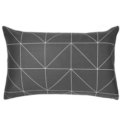 Kami Black And White Pillowcase