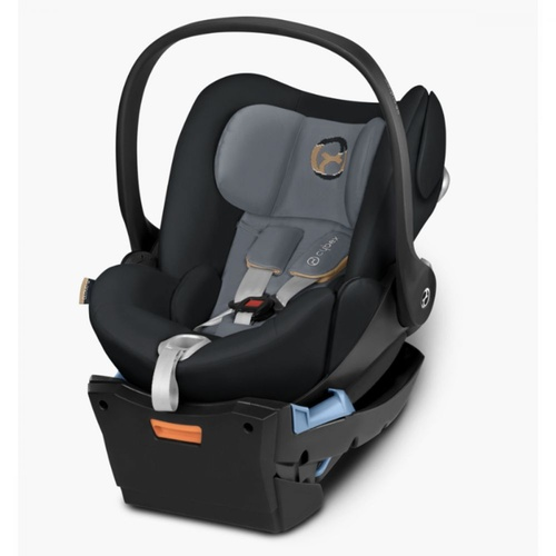 Cybex Cloud Q Capsule And Base - Graphite Black