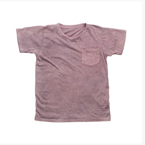 Basic Pocket Tshirt - Ruby