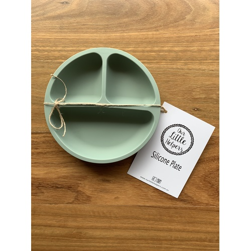 Silicone Plate - Sage